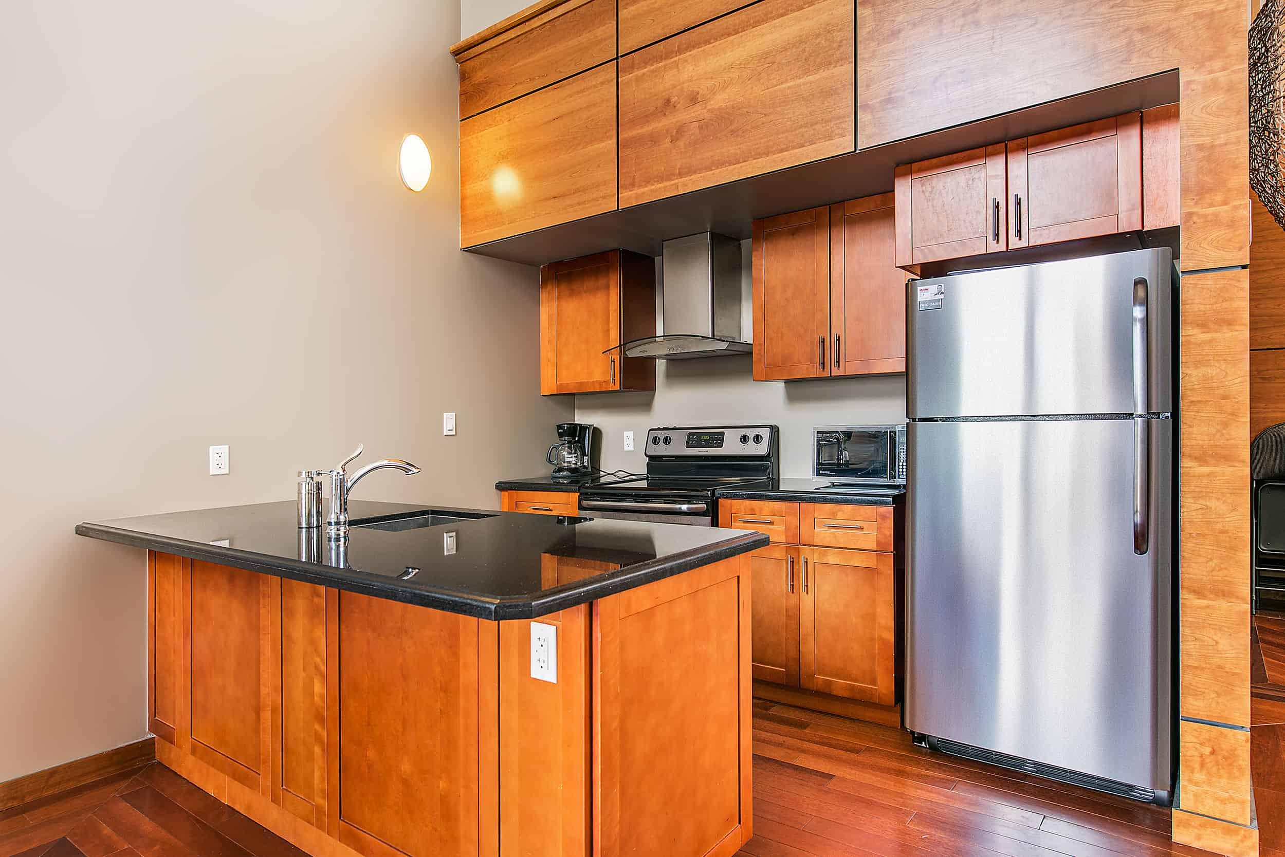 New Kitchen- Kingston Apartment