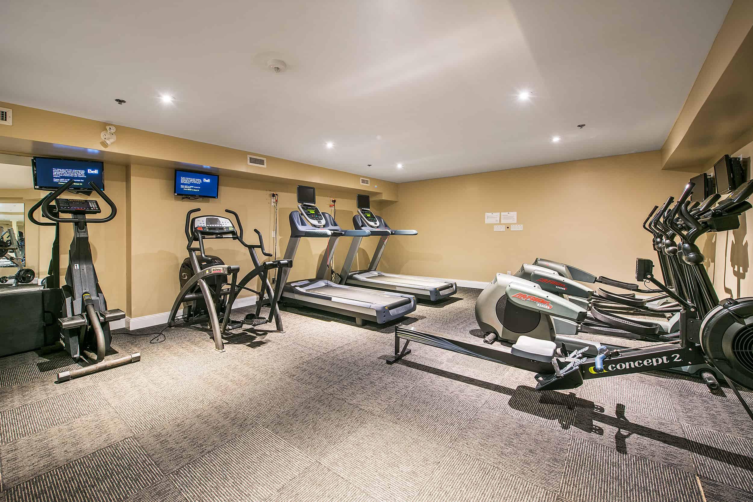 Gym- Kingston Apartments